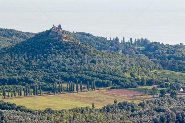 Hungarian landscape Stock photo © digoarpi