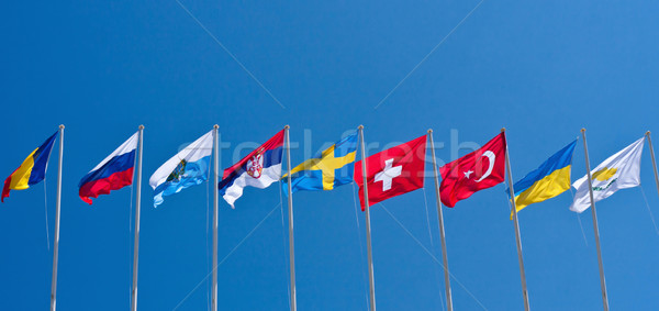 Flags Stock photo © digoarpi