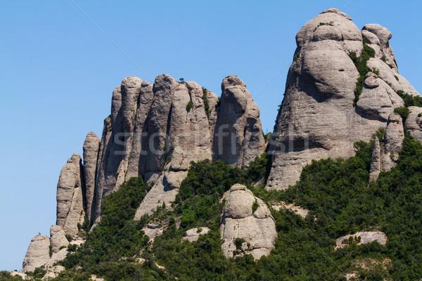 Ver montanhas Espanha paisagem planta belo Foto stock © digoarpi