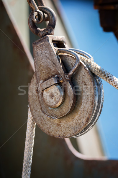 Sailing rope  Stock photo © digoarpi