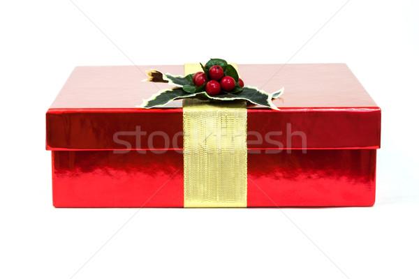 Hediye Noel kâğıt alışveriş kış mektup Stok fotoğraf © digoarpi