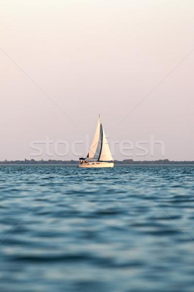 Sailboat Stock photo © digoarpi