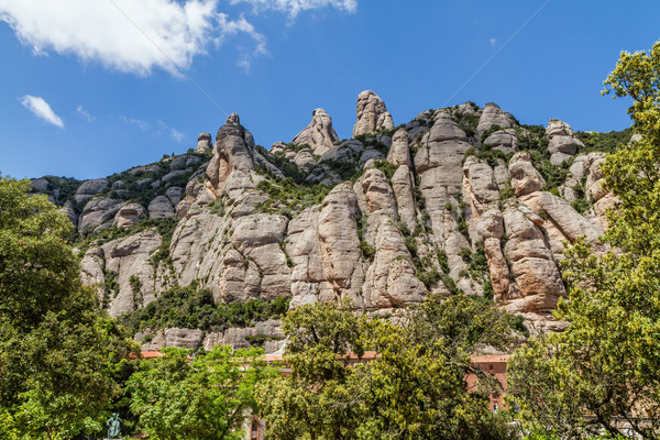 Montserrat mountains, Spain Stock photo © digoarpi