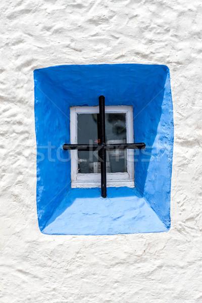 Blue Window  Stock photo © digoarpi