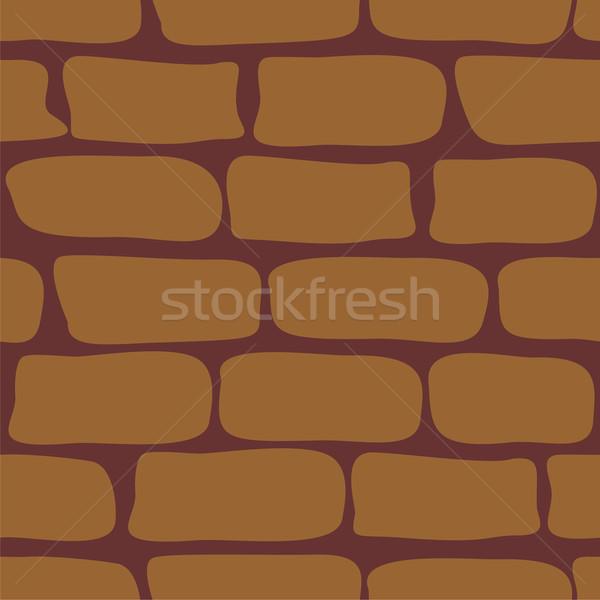 Süs renk vektör inşaat duvar Stok fotoğraf © Dimanchik