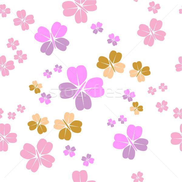 Bezszwowy ozdoba kolor wektora tekstury streszczenie Zdjęcia stock © Dimanchik