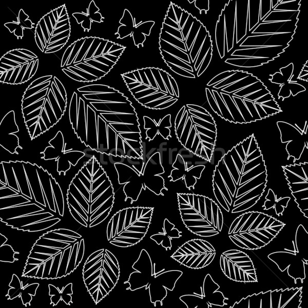 Bezszwowy tekstury wektora kolor liści tle Zdjęcia stock © Dimanchik