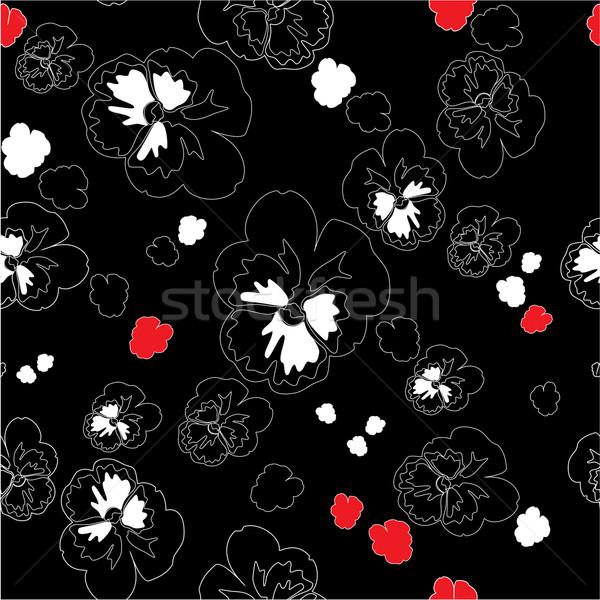 Süs renk vektör çiçek doku Stok fotoğraf © Dimanchik