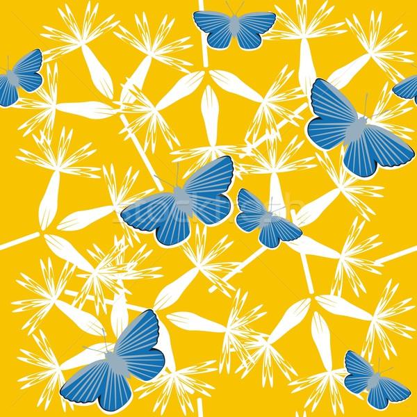 бесшовный текстуры вектора цвета цветок аннотация Сток-фото © Dimanchik