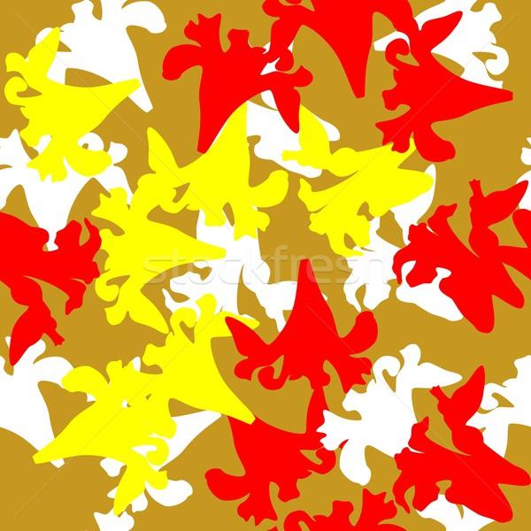 Bezszwowy ozdoba wektora kolor tekstury streszczenie Zdjęcia stock © Dimanchik