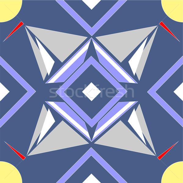 Bezszwowy ozdoba kolor wektora tekstury charakter Zdjęcia stock © Dimanchik