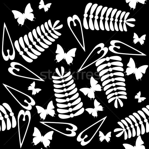 бесшовный текстуры вектора цвета лист фон Сток-фото © Dimanchik