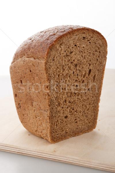 Rogge brood half brood houten Stockfoto © DimaP