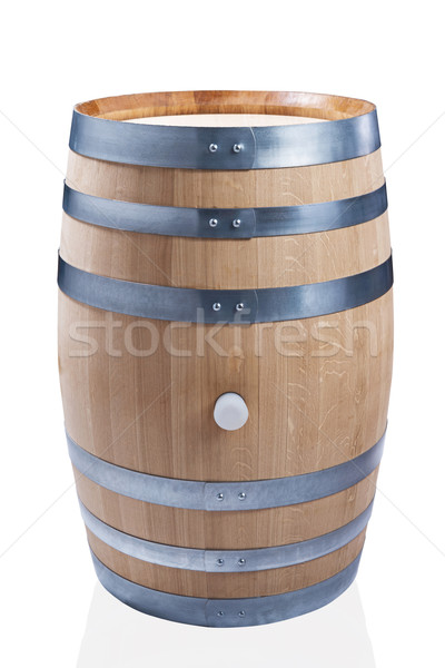 wooden wine barrel Stock photo © DimaP