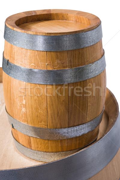 Stockfoto: Wijn · klein · top · groter · een · dranken