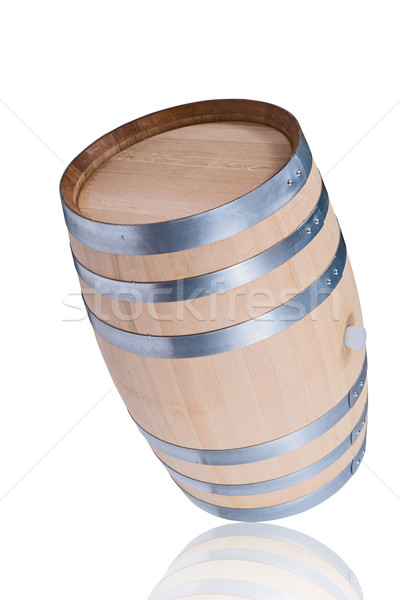 rolling wine barrel Stock photo © DimaP