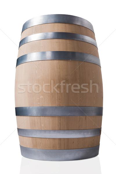 wooden wine barrel Stock photo © DimaP