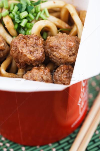 chinese takeout Stock photo © DimaP