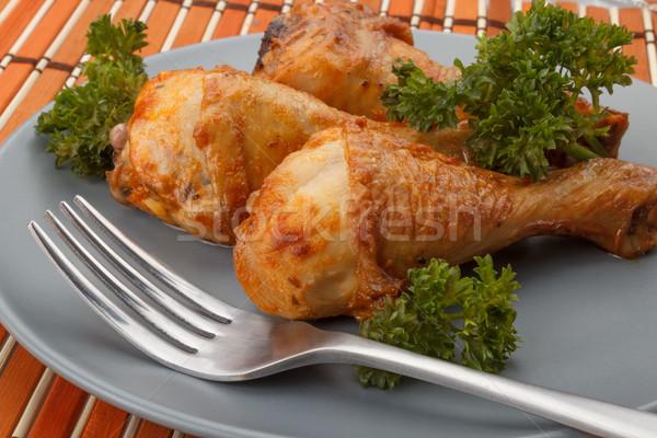 chicken drumstics Stock photo © DimaP