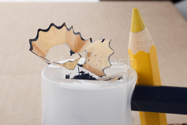 pencil sharpening Stock photo © DimaP