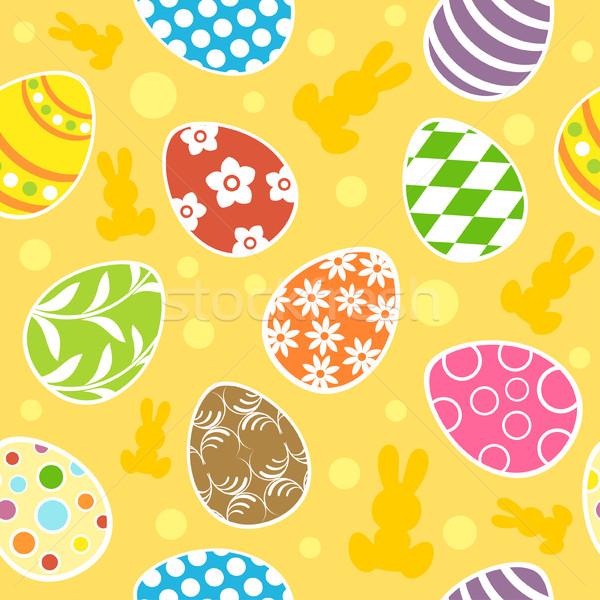 Pâques printemps nature signe couleur Photo stock © Dimpens