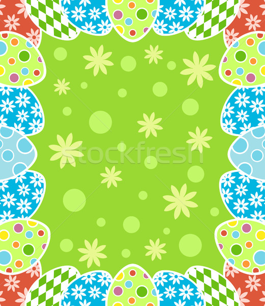 Easter background Stock photo © Dimpens