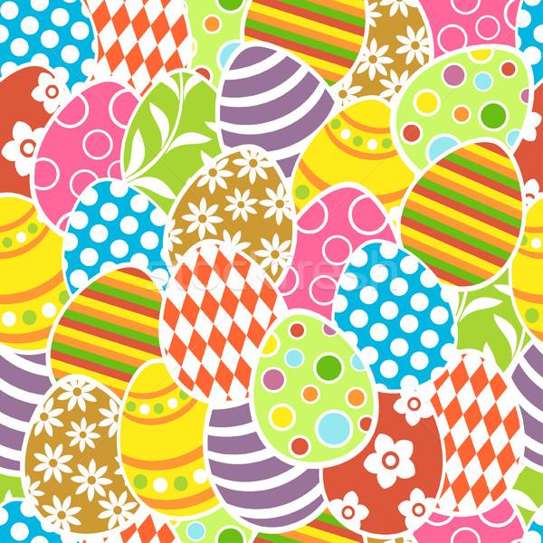 Pâques printemps résumé nature signe Photo stock © Dimpens