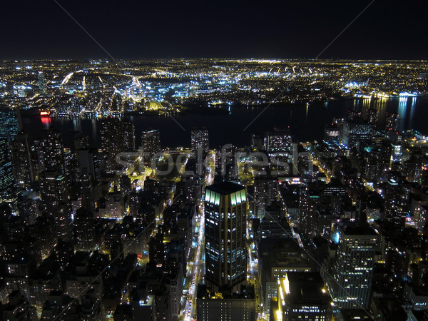 Manhattan night view Stock photo © Dinga