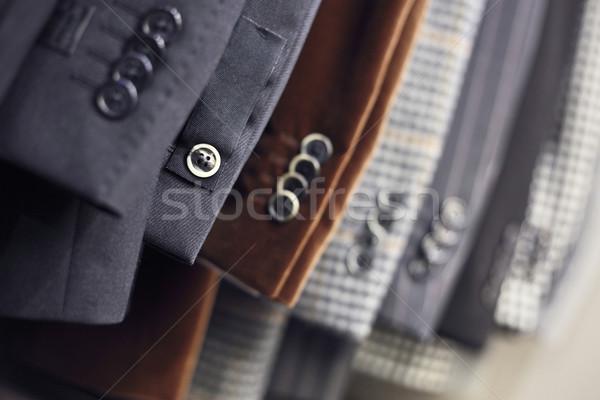 Przyciski luksusowy szczegół line sklep Zdjęcia stock © Dinga