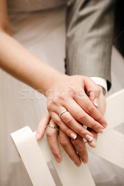 Wedding rings Stock photo © Dinga