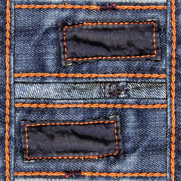Jeans deux sombre coton étiquettes Photo stock © Dinga