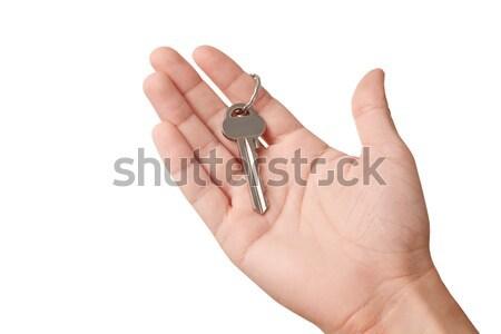 手 現代 キー ドア 背景 ストックフォト © Dinga
