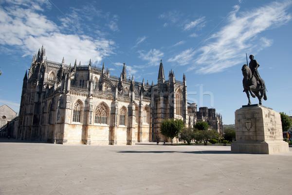 Monastero Portogallo unesco mondo culturale patrimonio Foto d'archivio © dinozzaver