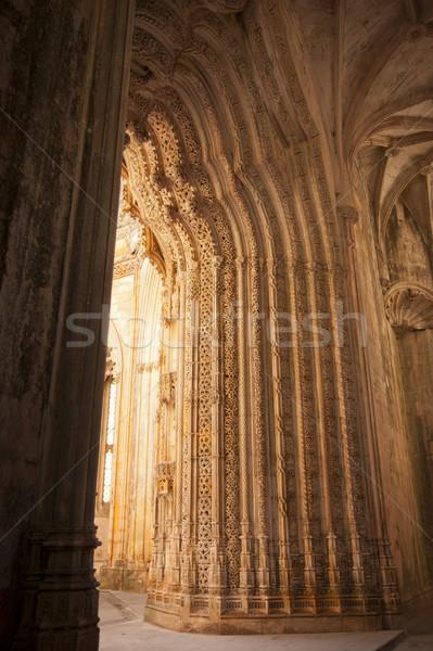 詳細 修道院 ユネスコ 世界 文化的 遺産 ストックフォト © dinozzaver