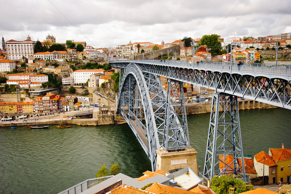 Ponte Luis I bridge, Porto Stock photo © dinozzaver