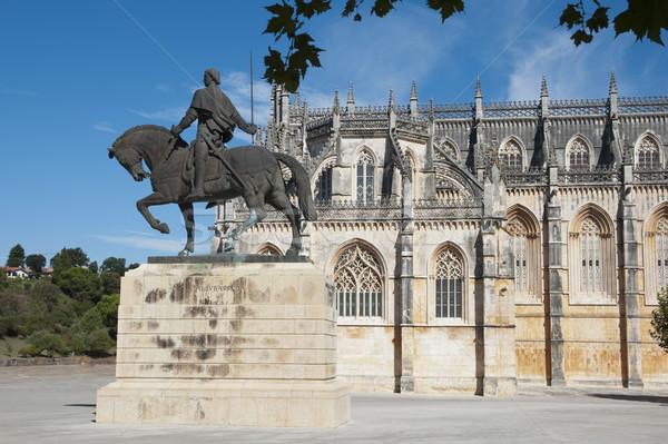Batalha monastery, Portugal Stock photo © dinozzaver