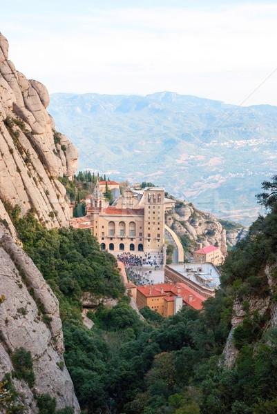 Monastery of Montserrat near Barcelona, Spain Stock photo © dinozzaver