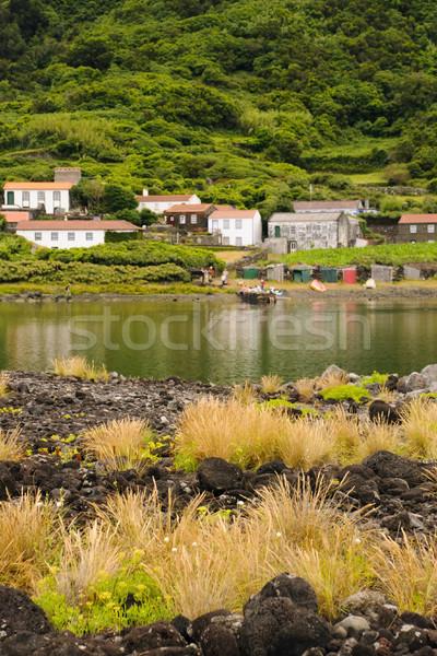 Lagoon Stock photo © dinozzaver