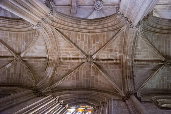 天井 修道院 ユネスコ 世界 文化的 遺産 ストックフォト © dinozzaver