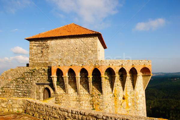 Castillo edificio construcción viaje piedra ladrillo Foto stock © dinozzaver