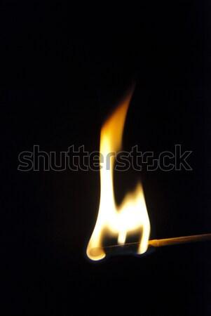Ardor partido negro luz fondo oscuro Foto stock © dinozzaver