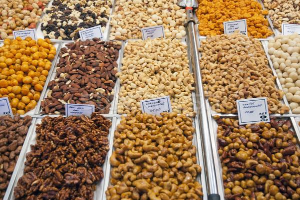 ナッツ 販売 市場 ビジネス 市 ストックフォト © dinozzaver