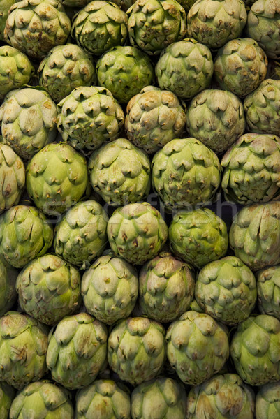 Artichokes to sell Stock photo © dinozzaver