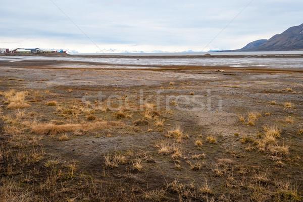 Арктика рано лет грязи пейзаж воды Сток-фото © dinozzaver