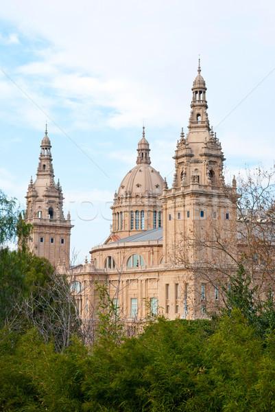 National Museum of Art, Barcelona Stock photo © dinozzaver