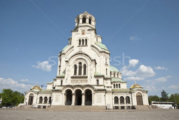 Alexander Nevsky cathedral in Sofia, Bulgaria Stock photo © dinozzaver