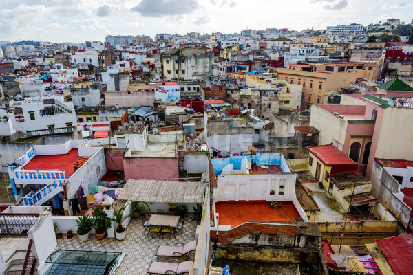 Tangier skyline, Morocco Stock photo © dinozzaver