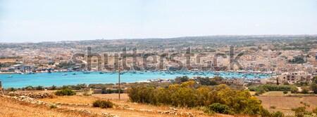 Vista Malta agua mar verano azul Foto stock © dinozzaver