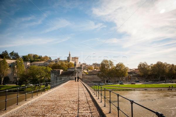 Bridge Saint-Benezet, Avignon, France  Stock photo © dinozzaver