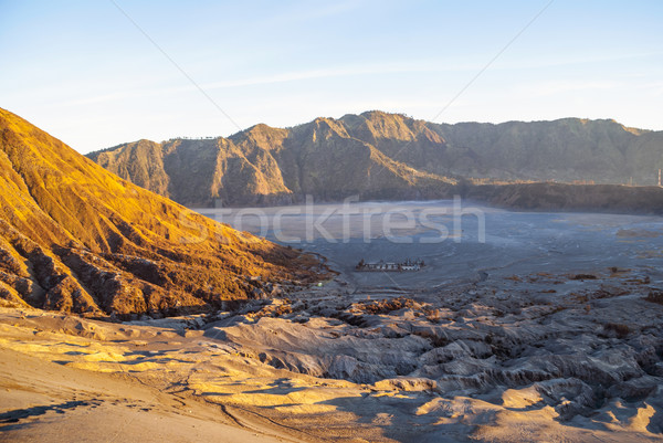 Восход горные Ява Индонезия вулкан плато Сток-фото © dinozzaver